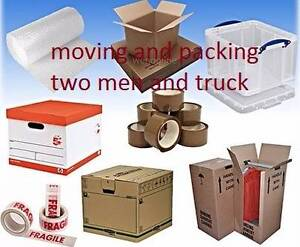 FURNITURE REMOVALIST  SERVICE WITH TWO MEN AND TRUCK West Ryde Ryde Area Preview