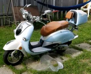 Benzhou 150cc retro scooter