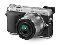 Panasonic Lumix GX7 kit Silver(14-42mm Lens,16MP,boxed,warranty with receipt)not Nikon,Canon,Sony