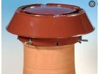 All purpose chimney cowl - anti downdraught