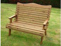 Free garden bench seat