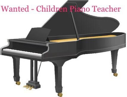 Wanted: Wanted - Beginner Piano Teacher
