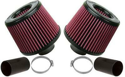 BMS Dual Cone Performance Intake Red Filters for BMW N54 135 335 535 Z4 (DCI)