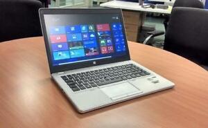 ON SALE $50 OFF! HP EliteBook Folio 9470m i5 3rd-Gen 4-16GB DDR3 HDD/SSD 14in 720p HD Windows 7/10 Pro Backlit Ultrabook