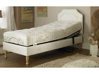 Electric Adjustable Bed - Prestige Ambience with medium pocket sprung mattress
