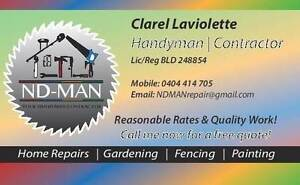 Handyman / contractors (ND-MAN) Adelaide CBD Adelaide City Preview