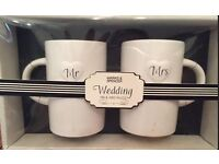 M&S wedding Mugs