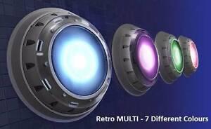Multi colour retro fit LED pool light. Craigie Joondalup Area Preview