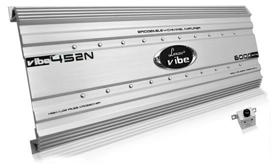 New Lanzar VIBE452N Car Audio Vibe 6000 Watt 4 Channel Mosfe