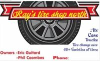 Ray's Tire Shop North!