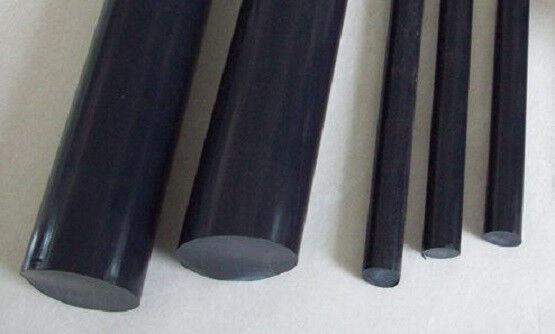 "Teflon 15% Graphite Filled Rod - .500"" Dia x 60"" Long (Nominal)"