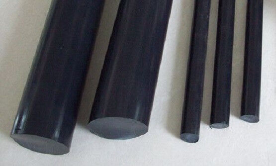 "Teflon 15% Graphite Filled Rod - .500"" Dia x 48"" Long (Nominal)"