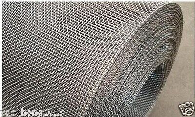 Stainless Steel Woven Wire Mesh 8 Mesh 6 X 6 Type 304 Filter Grading Sheet