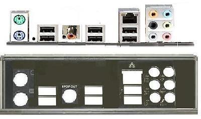 ATX Blende I/O shield Asus P5Q-SE2 SE/R NEU OVP io #38