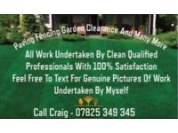 SLABBING , BLOCK PAVING FENCING AND MUCH MORE...