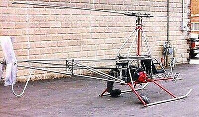 Original Konstruktionsplan Hubschrauber AW95 Ultraleicht zum Selberbauen TOP
