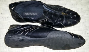 """Ferrucci"" Soft  Leather Cycling Shoes"