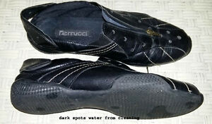 """Ferucci"" Soft  Leather Cycling Shoes"