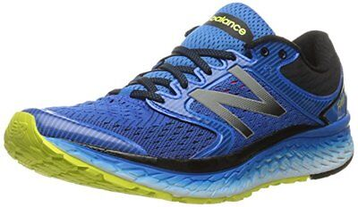 Men's New Balance M1080BY7 Running Shoes - Blue Yellow - BEST