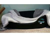 X large plastic dog bed