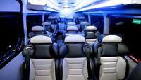 ottawa to toronto rideshare in 14 seater van, high roof