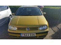 VW Golf 1.4 petrol
