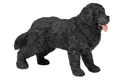 Papo 54018 Newfoundland Terrier Dog Toy Canine Animal Replica Figurine - NIP