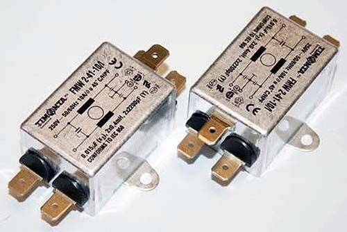 EMI Filter, HPF, FMW2-41-10/I, 5500-2042, 10 Amp, 250VAC