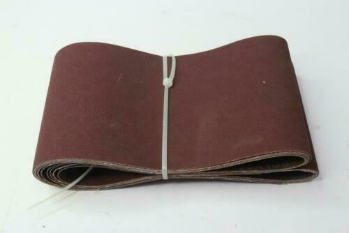 "Aluminum Oxide Multipurpose Sanding Belts 150 Grit 6"" x 186"""
