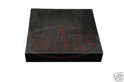 Shars 18 X 24 X 3 Grade B Granite Surface Plate No Ledge New .00013 Save 154.66