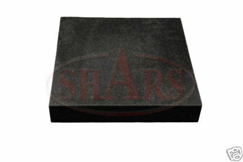 "SHARS 12 X 18"" GRANITE GRADE B SURFACE PLATE NO LEDGE .0002 NEW"