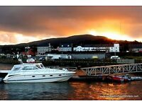 4 star Donegal beach cottages in the seaside village of Rathmullan