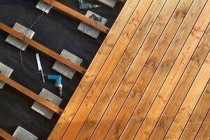 Eiche Terrassendielen 25 x 140 bis 4000 mm glatt Holzterrasse Bretter