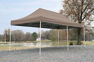 10 ft by 20 ft accordion pop-up canopy