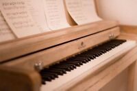 Private Beginner and Intermediate Piano Lessons