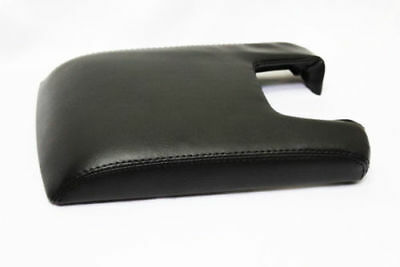 Real Leather Black Center Console Lid Armrest Cover Fits 09-14 Acura TL