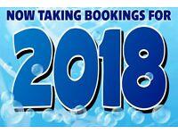 2017 & 2018 BOOKINGS - 8 BERTH STATIC CARAVAN ON MARTON MERE