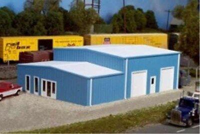 Pikestuff (HO-Scale) #541-5006 Contractors Building Kit (blue) - NIB