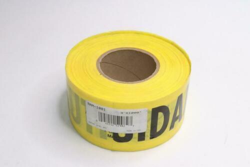 "Rolls Caution Tape 3"" x 1000"