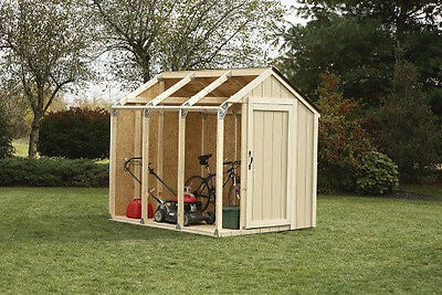 NEW 2x4basics 90192 Shed Kit Peak Style ...