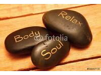 Relaxing massage perfect for stressed and tired muscles