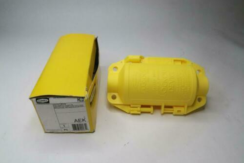 """Hubbell Wiring Device-Kellems Plug Lockout Yellow 3/8"""" Shackle Dia. HLD"""