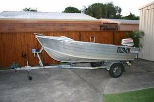 Stacer Seasprite 3.9m, trailer and 25HP Johnson Beachmere Caboolture Area Preview