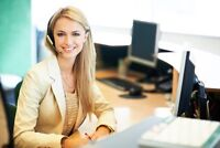 FULL TIME RECEPTIONIST NEEDED 15$/hr