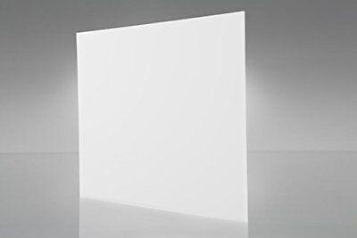 Acrylic White Translucent Plexiglass 18 X 12 X 24 Plastic Sheet 7328
