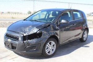 Chevrolet Sonic - WRECKED OR SALVAGE