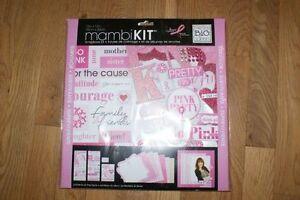 MambiKIT 12x12 Breast Cancer Survivor Scrapbooking Kit London Ontario image 1