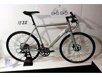 Eastway Hybrid silver bike