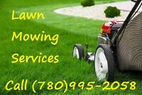 Lawn Mowing Cutting Service 780-995-2058