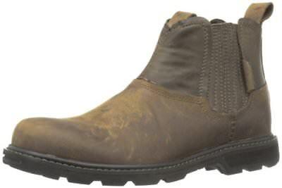 Skechers USA Men's Blaine Orsen Ankle Boot,Dark Brown,12 M U
